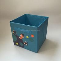 home houshold fabric custom logo storage bins