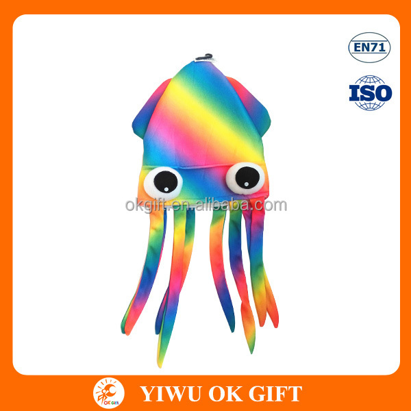 Color Del Arco Iris Multicolor Pulpo Calamar Animal Sombreros - Buy ...