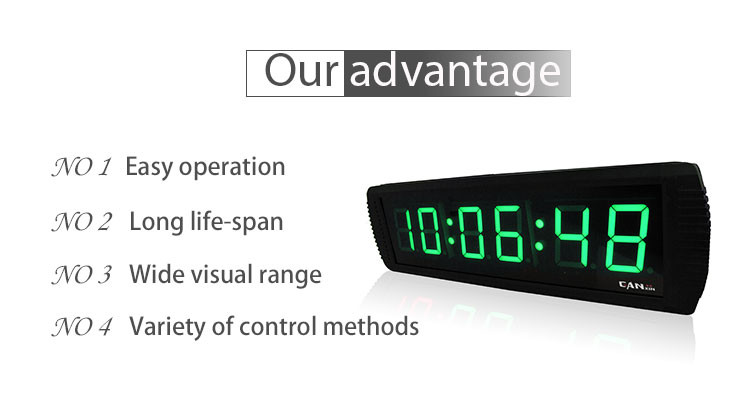 Wholesale Modern Design High Quality Digital NTP LED Clock