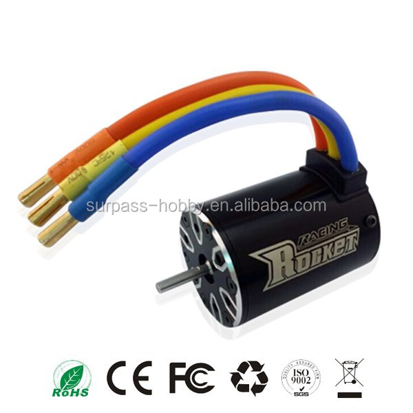 Rocket 540 IO 5.6A brushless sensorless motor 3660 engine controller for rc AWD competition level car