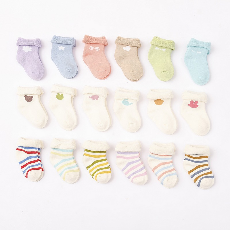 High quality cotton baby socks wholesale new design cheap socks