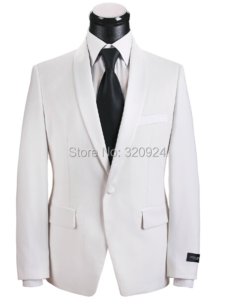 2015 italian suits for men white and black mens groom wedding party suits 100% wool new designer mens suits wedding groom