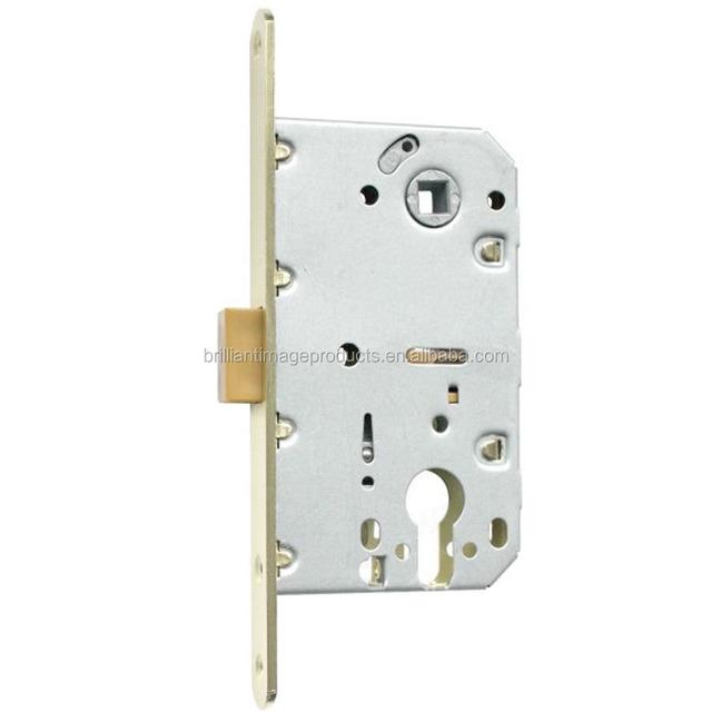 Door Lock, Magnetic Italian European Mortice Lock Body For Wooden Doors  410C M