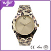 2015 hot sale leopard grain gift watch, fashion women alloy bracelet watch