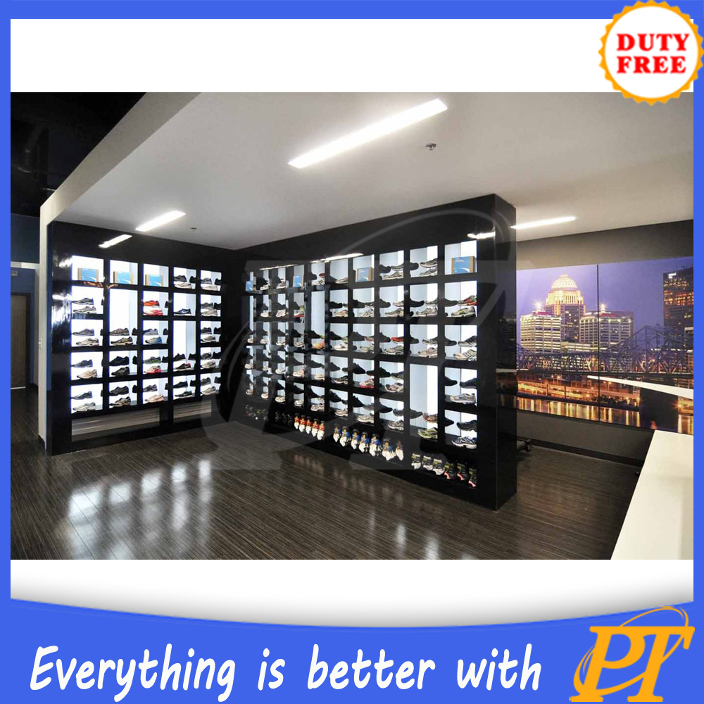 828db0c1db617c Customized sport shop furniture,sport store furniture for sport shoes  display
