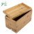 Mobile phone case shelf bamboo docking station with charging holder