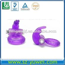 Pleasure-enhancing toy, Men cock ring Vibrator with Butterfly Shape
