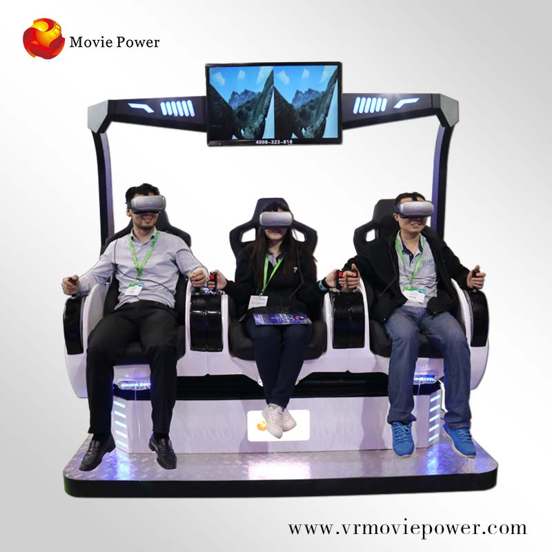 Hot Koop Film/9D VR Simulator met Virtual Reality Games en Shooting Games Voor Pretpark.