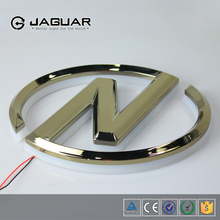 JAGUARSIGN honesty manufacturer custom car emblem led 3d car logo