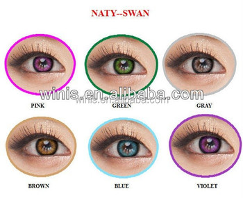 cf878a55319 wholesale yearly lens Naty Swan from I-CODI factory sealed Korea cosmetic  circle lenses colored