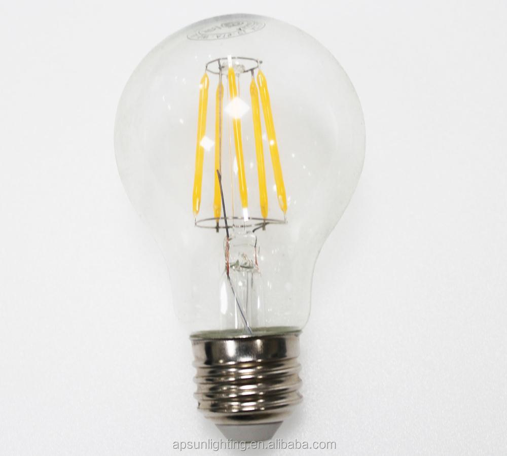 Standard Etl Dimmable Led 2015 Hot Led Filament Bulb Light ...