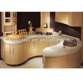 China Fabricante De Muebles Para El Hogar Hanex Superficie Sólida Para  Gabinetes De Cocina Formica/vintage Muebles De Cocina (kct-095) - Buy  Vintage ...