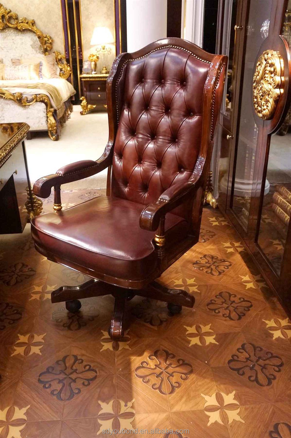 Picture of: 0063 European Classic Design Wooden Study Room Or Office Furniture Buy Classic Wood Study Room Antique Office Furniture European Design Wooden Furniture Product On Alibaba Com