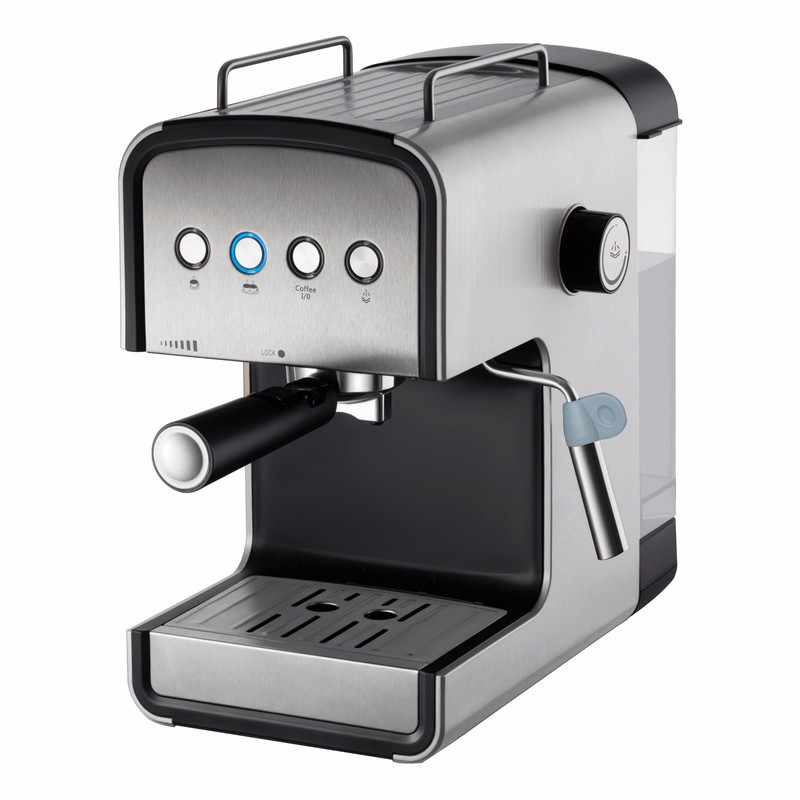15 bar Italian ULKA pump high pressure volume control domestic espresso coffee maker expresso electric coffee machine