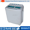 220V 50HZ twin tub clothes washer top open compact semi auto washing machine