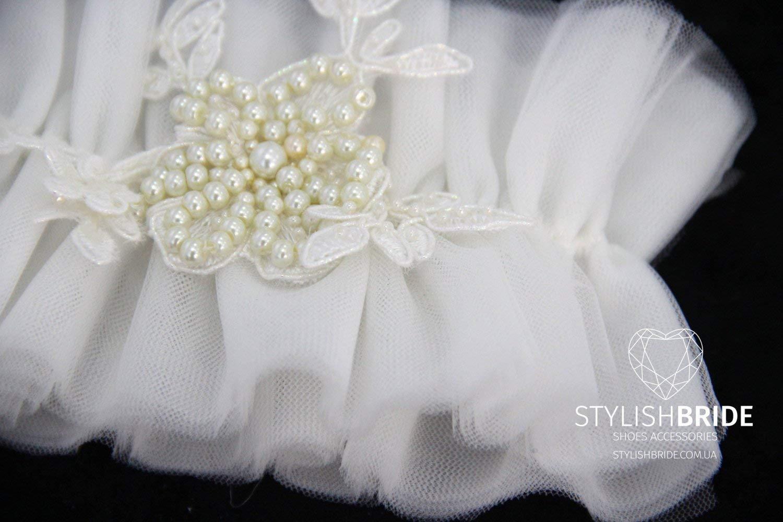 Wedding lush garter tulle, tulle Wedding garter, bridal garter, tulle garter, bridal garters, ivory Tulle Bridal Garter, Tulle Bridal Garter