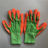 OPTIMA 13 Gauge Sandy Nitrile Construction Gardening Safety Protection Palm Cut 3 Anti Shock Gloves