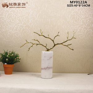 Handmade metal coral branch tree statue for table decoration and gift