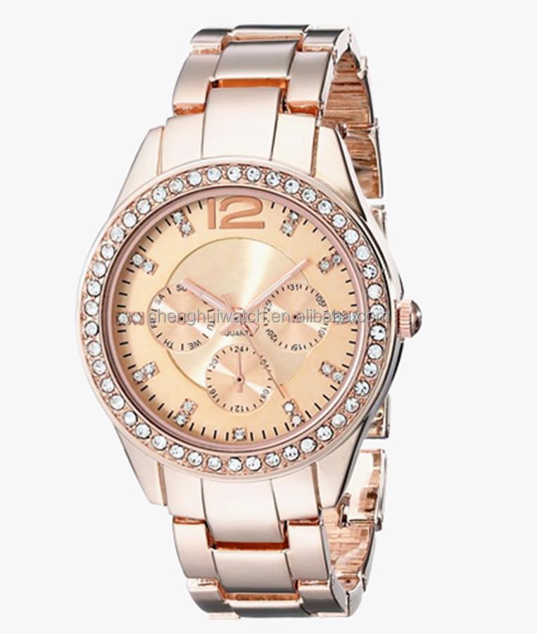 Diamantes Cuarzo Rosa Para Mujeres Oro Inoxidable De Acero Buy Relojes Hombres Artificial Lujo Ginebra Y ULqzVpGSM