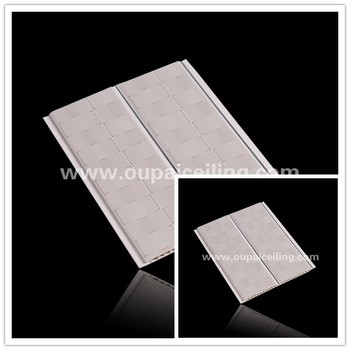 Waterproof Commercial Bathroom Pvc Wall Covering Panel