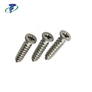 M4 Stainless steel SUS304 Phillips Flat Head Self Tapping Screws