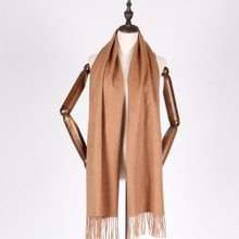 2017 new color solid color cashmere scarf