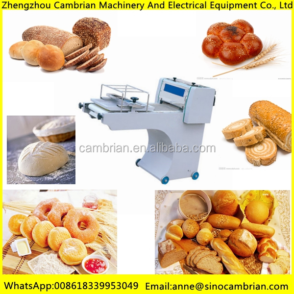 Efficient and energy saving dough sheeter cutter machine with good quality