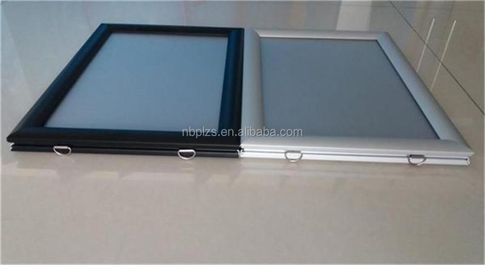 display photo framewall hanging poster framesdouble sided snapper frame 5070 - Display Frames