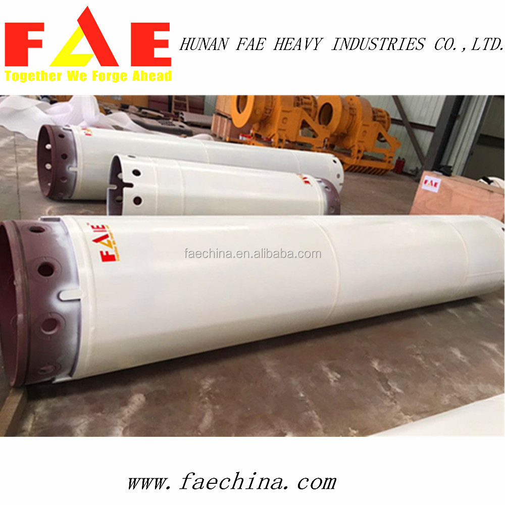 factory hot sale interlocking piling casing tube for piling rig