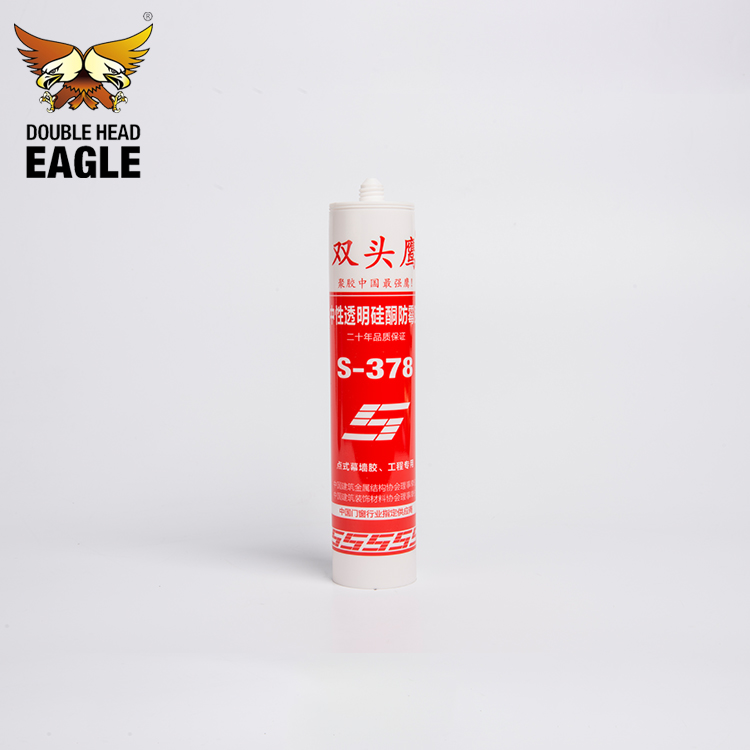 Low Cost One Component Quick Drying Anti-Mildew Silicone Sealant