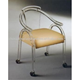 Acrylic Game Chair with Casters