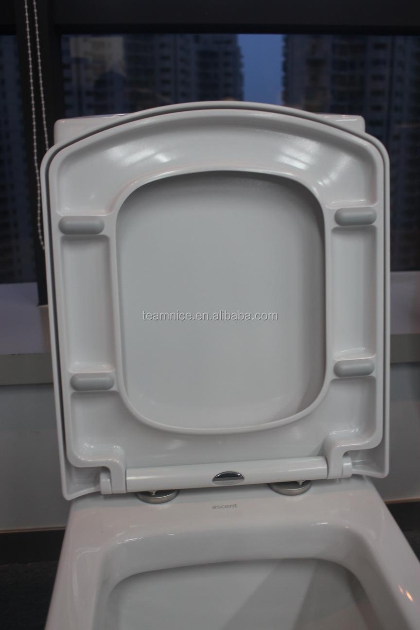 D Shape Flat Design Wc Toilet Seat Ceramic Feel Sanitary Ware Buy Flat Desi