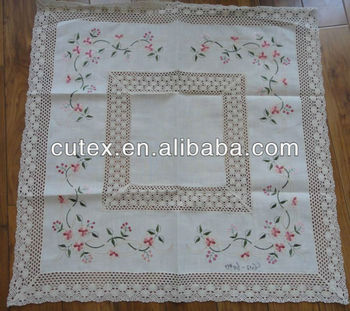 Crochet Lace Tablecloth Pattern Buy Cotton Crochet Lace Tablecloth