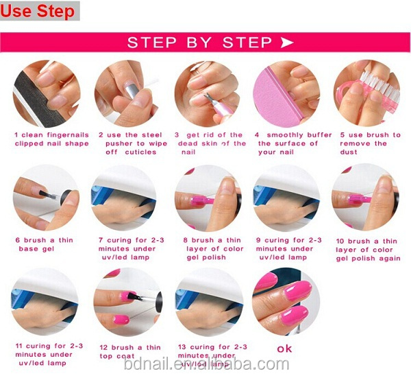uv nail gel polish how to use it