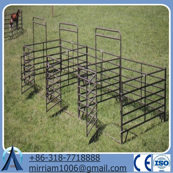 walk-thru gates livestock corral panels and gates and metal horse fence
