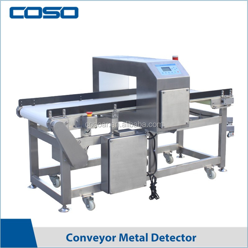 Conveyor belt tunnel metal detecting device for food industry made in China