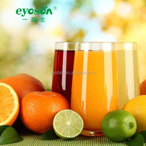 Soft drink supplement fruit juice enzymes by fermentation