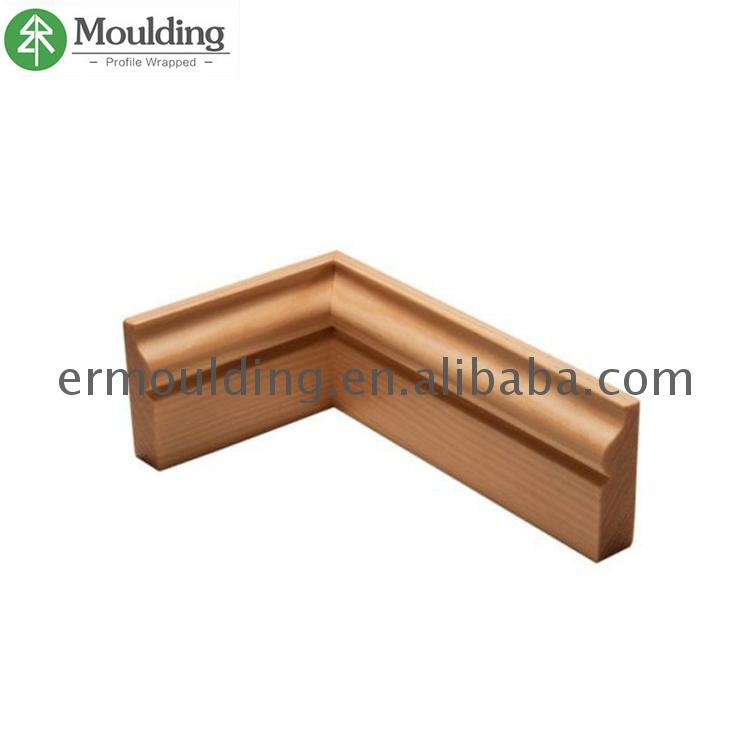 Hot Selling Product UV/PU/PE painting finish&white primed Decorative Wooden Stair Nose Moulding