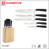 High quality stainless steel 6 pcs kitchen knife set KF-F8007