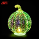 2018 new arrivals handmade craft led light artificial Halloween pumpkin for home decoration and gifts