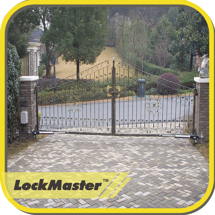 Ce/emc/rohs Approved Lockmaster Dual Arms Automatic Operator Gate ...