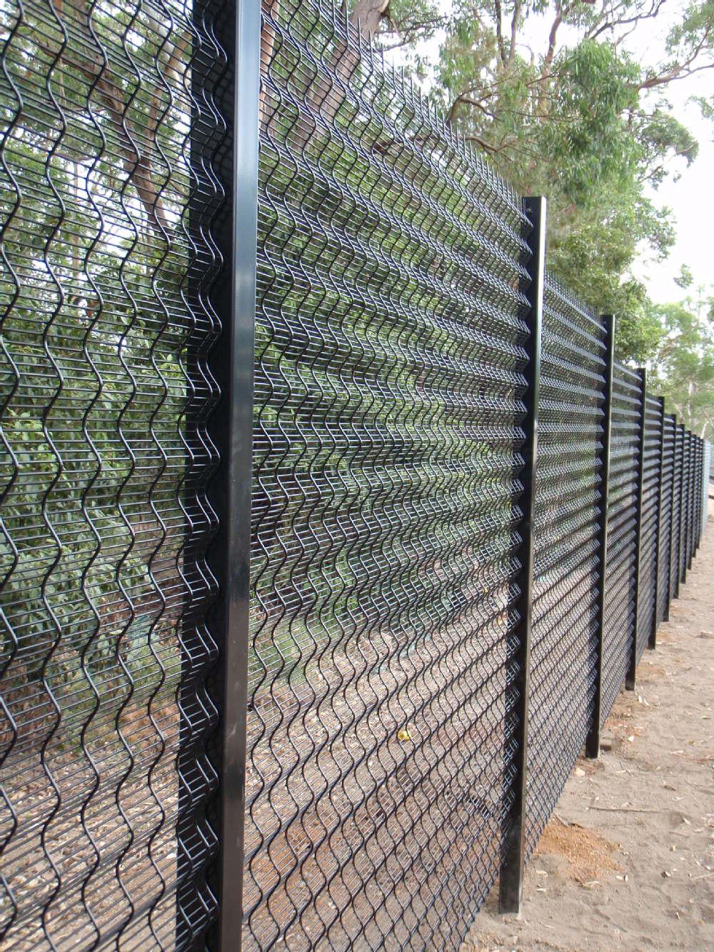 Max Guard Hot Dipped Galvanised Prison Anti-climb Fence/sliding Gate ...