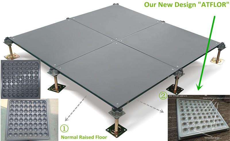 Bare Steel Raised Access Floor Modular Floor System Buy