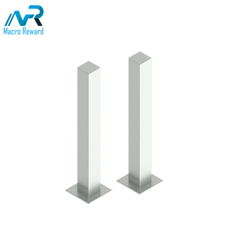 New design square bollards stainless steel bollard for safety bollard