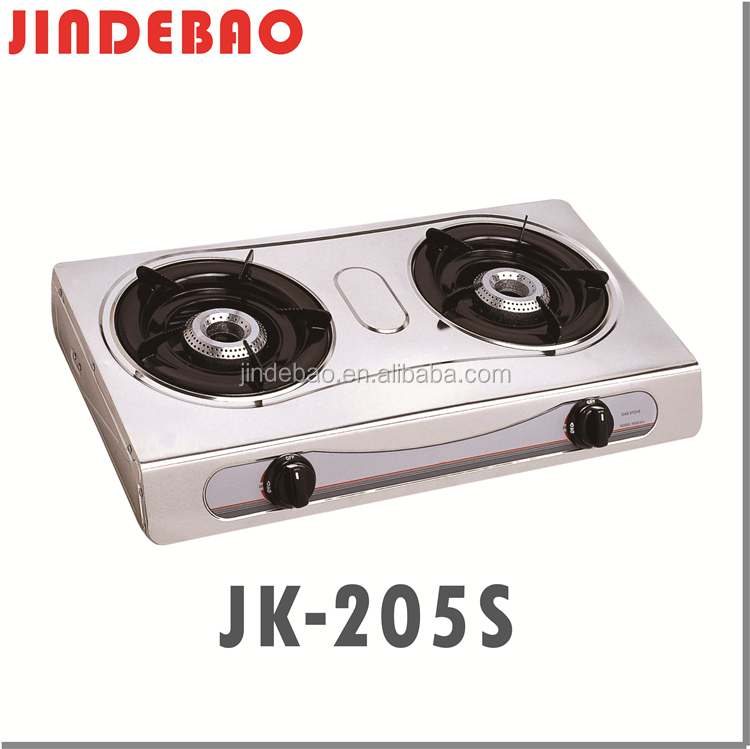 Stainless steel cold rolled sheet cooktop 2 burner gas stove with competitive prices