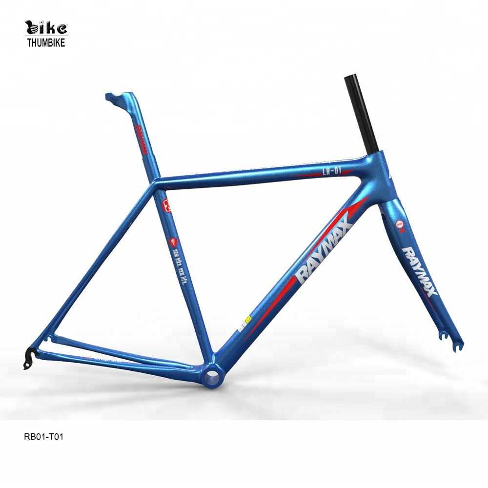 Raymax Bike Parts With Full Suspension Carbon Bike Frame Customized