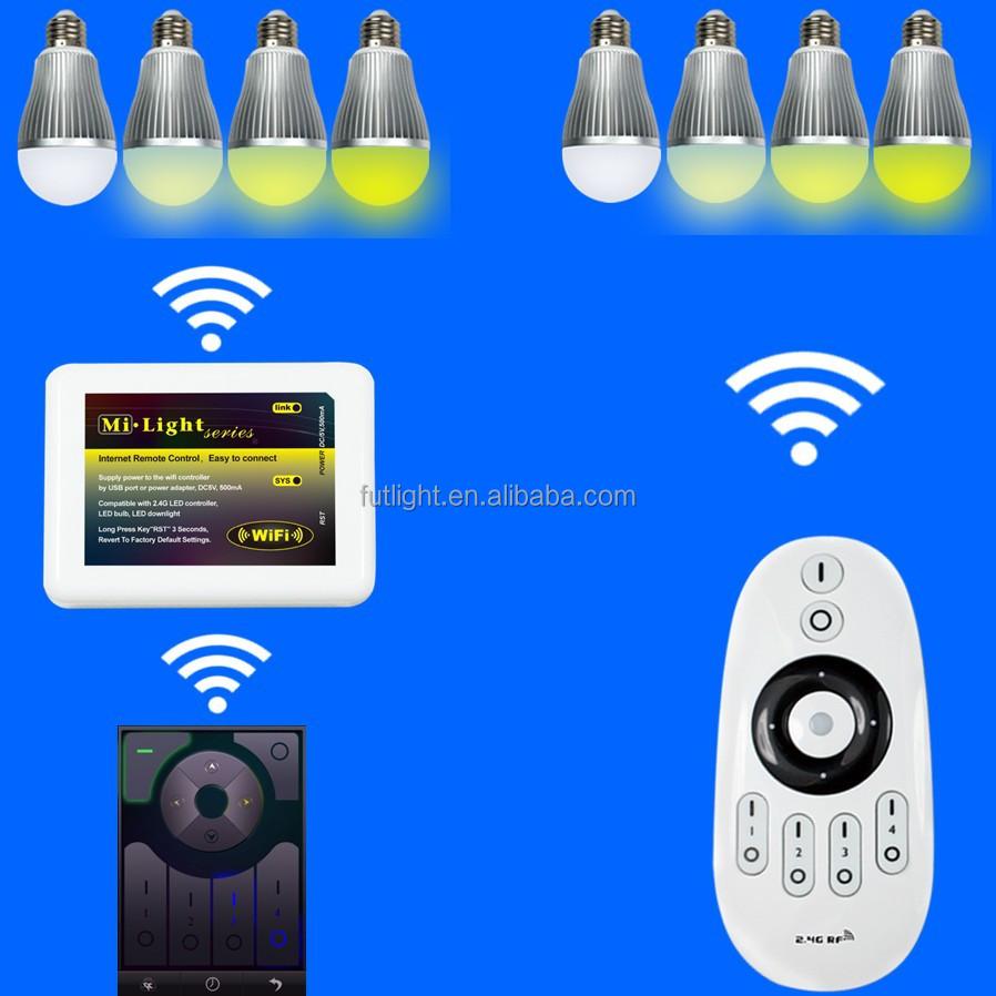 Het Hete Verkopen Draadloze Intelligente Mi Led Licht Lamp 2,4 Wifi ...