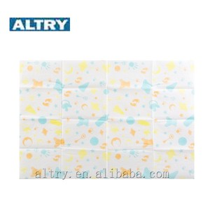 disposable waterproof coloured non woven baby pad for baby