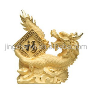 Brass Master Bronze Happy Dragon Animal Sculptures