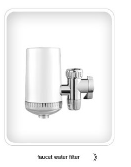 Ceramic Filter Portable Faucet Water Tap Purifier for Household